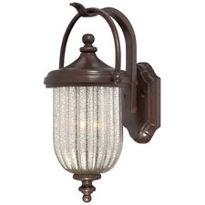 <strong>Great Outdoors by Minka</strong> Solara Hills 3 Light Outdoor Wall Lantern