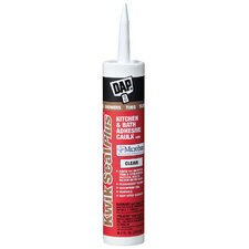 10 Oz Clear Dap® Kwik Seal Plus® Premium Kitchen & Bath Adhesive Caulk With
