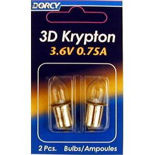 3.6 Volt Krypton Bulb (Set of 2)