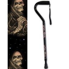 Grim Reaper Offset Single Point Cane