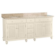 "<strong>Foremost</strong> Cottage 72"" Bathroom Vanity Set"