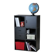 Modular Storage Five in One System in Black