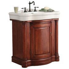 "<strong>Foremost</strong> Wingate 31.88"" Bathroom Vanity Set with China Top"