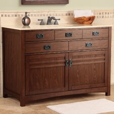 "Cornell 49"" Bathroom Vanity Set with Top"