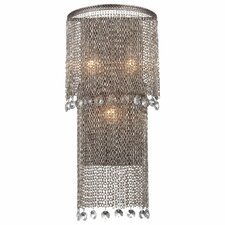 Shimmering Falls 3 Light Wall Sconce