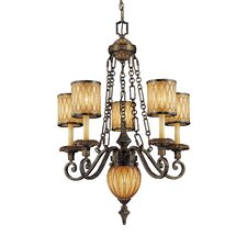 <strong>Metropolitan by Minka</strong> Terraza Villa 6 Light Chandelier