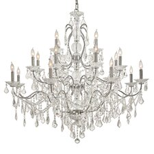 Crystal 20 Light Chandelier