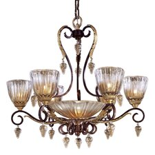 <strong>Metropolitan by Minka</strong> Vintage 7 Light Chandelier