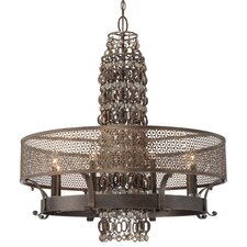 Ajourer 8 Light Chandelier