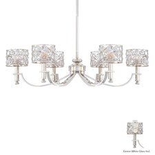 Magique 6 Light Oval Chandelier