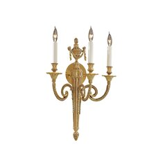 <strong>Metropolitan by Minka</strong> 3 Light Wall Sconce