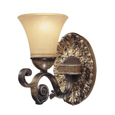 <strong>Metropolitan by Minka</strong> Veranda Crest 1 Light Wall Sconce