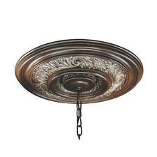 Salamanca Ceiling Medallion in Cattera Bronze