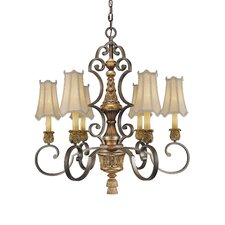 <strong>Metropolitan by Minka</strong> Habana 6 Light Chandelier