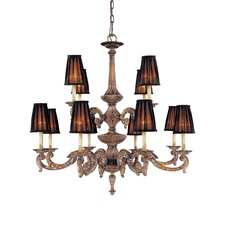 <strong>Metropolitan by Minka</strong> Mariner Metropolitan 12 Light Chandelier