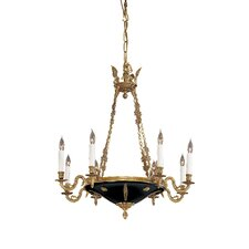 <strong>Metropolitan by Minka</strong> Vintage 8 Light Chandelier