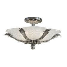 <strong>Metropolitan by Minka</strong> 6 Light Semi Flush Mount