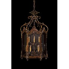 9 Light Foyer Pendant