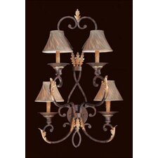Zaragoza 4 Light Wall Sconce