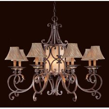 <strong>Metropolitan by Minka</strong> Zaragoza Eleven Light Chandelier in Golden Bronze with Optional Shades