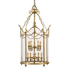 10 Light Foyer Pendant