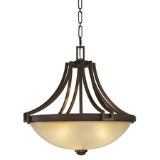 Walt Disney Signature Underscore 4 Light Bowl Inverted Pendant