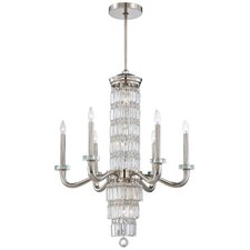 <strong>Metropolitan by Minka</strong> Crysalyn Falls 12 Light Chandelier