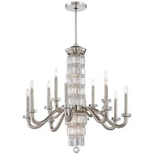 <strong>Metropolitan by Minka</strong> Crysalyn Falls 18 Light Chandelier