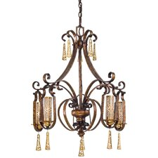 <strong>Metropolitan by Minka</strong> Vineyard Haven 5 Light Chandelier