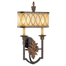 Terraza Villa 2 Light Outdoor Wall Sconce