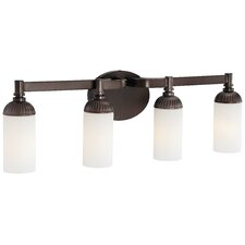 <strong>Metropolitan by Minka</strong> Industrial 4 Light Bath Light