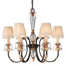 <strong>Metropolitan by Minka</strong> Bella Cristallo 6 Light Chandelier