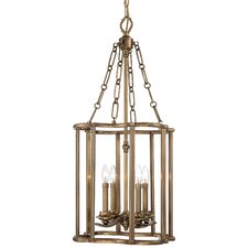 <strong>Metropolitan by Minka</strong> Leicester 4 Light Foyer Pendant