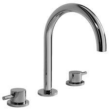 M.E. 25 Double Handle Widespread Bathroom Faucet