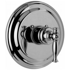 Lauren Thermostatic Shower Trim Plate and Handle