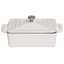 0.01-qt. Cast Iron Rectangular Casserole