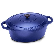 <strong>Paderno World Cuisine</strong> Cast Iron 3 1/2-Qt. Oval Dutch Oven
