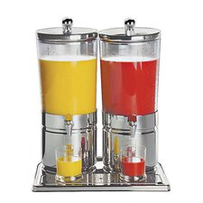 6.3 qt. Stainless Steel Juice Dispenser (Set of 2)