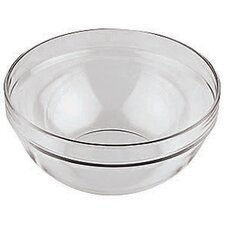 Round Glass Bowl