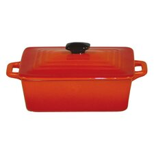 Tabletop Cookware 0.01 Qt. Cast Iron Rectangular Casserole