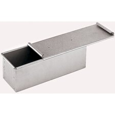 <strong>Paderno World Cuisine</strong> Aluminized Steel Bread Pan with Cover