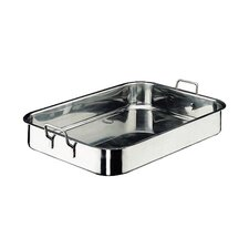 <strong>Paderno World Cuisine</strong> Roasting Pan in Stainless Steel