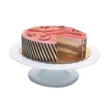 White Revolving Cake Stand