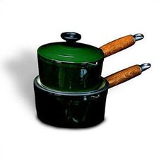 Cast Iron Saucepan with Lid
