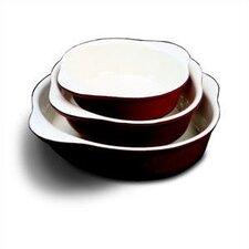 8.25' Enamel Cast Iron Round Dish