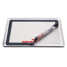 <strong>Paderno World Cuisine</strong> Perforated Aluminum Baking Sheet