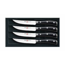 <strong>Wusthof</strong> Classic Ikon 4 Piece Steak Set