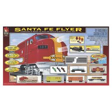 Santa Fe Flyer Train Set
