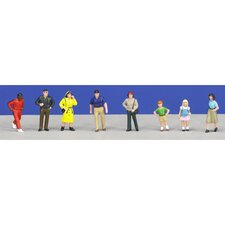 SceneMaster™ O Scale Townspeople Figures
