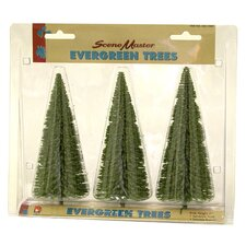 "SceneMaster™ 7"" Evergreen Trees"